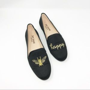 06ca970805b ... Jon Josef Bee Happy Black Gatsby Loafers Size 8 ...